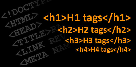 H1-H6: Page Headings